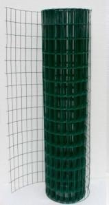 Сеткасварная  с ПВХ . Ячейка 50х100, рулон 10 м,высота 1,5м -  АлюПрофиль  в Киеве