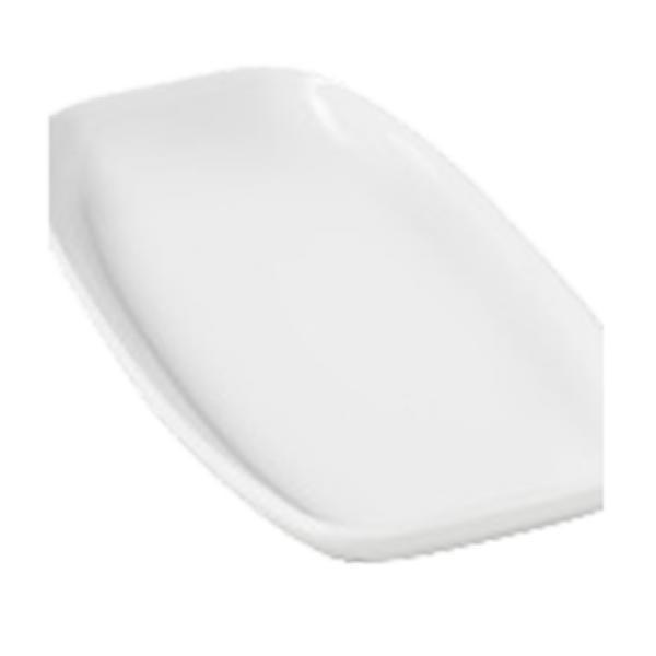 Блюдо прямоугольное белое Revol серия Club (24х12,5х2,9 см)
