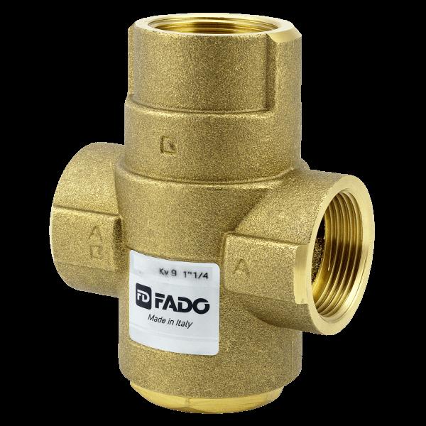 """Трехходовой антиконденсатный клапан 1*1/4"""" 55 °С Kv 9 AKP02"""