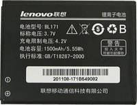 Аккумулятор (батарея) Lenovo A390,A390t,A50,A60,A65,A356,A376,A500 / BL171 (1500 mAh)