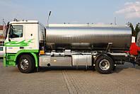 Автоцистерна для транспортировки молочной продукции
