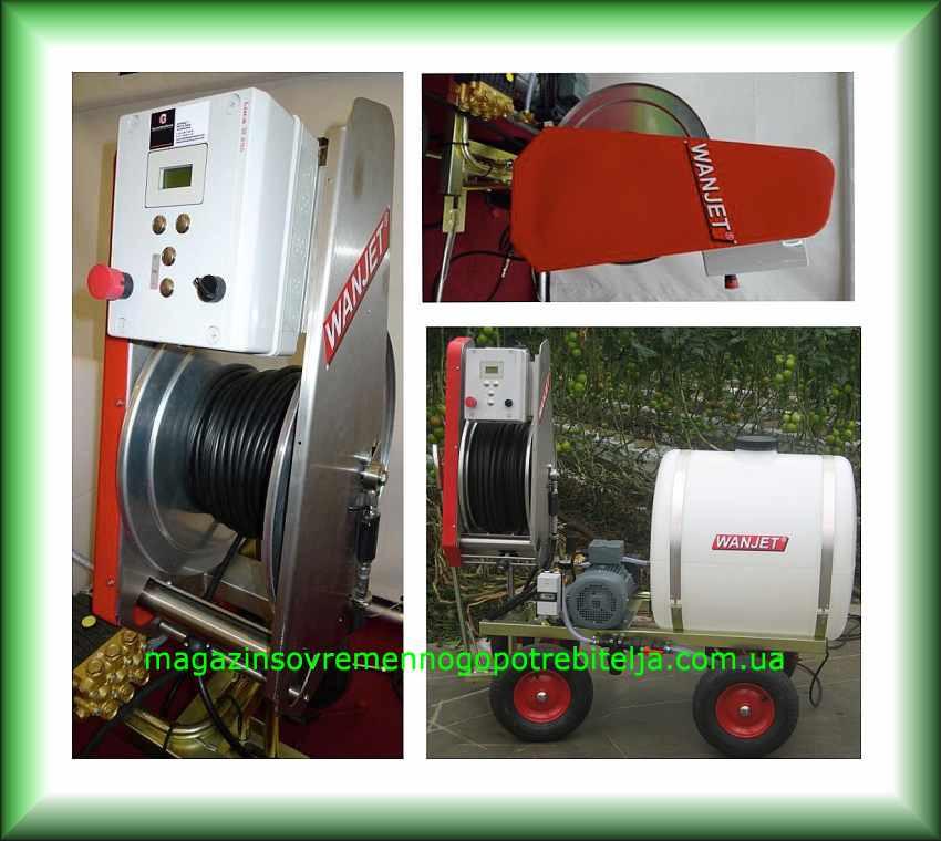 Дистанционный привод управления тепличными опрыскивателями WANJET R4