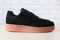44,45,46!!!Новинка!!! Мужские кроссовки Nike Air Force замшевые/натуральный замш