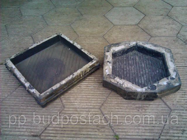 Пластикова форма для тротуарної плитки своїми руками