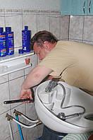 Встановлення умивальника, мийки Тернопіль.