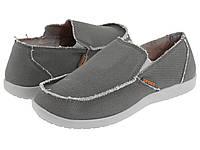 Мужские мокасины летние Crocs Men's Santa Cruz Loafer 45 размера