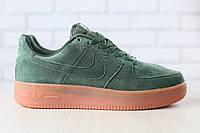 Новинка!!! Мужские кроссовки Nike Air Force замшевые/натуральный замш /