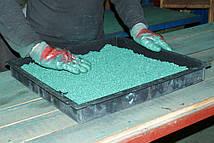 Виробництво плитки з гумової крихти