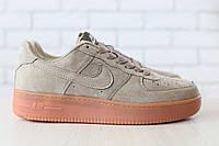 Размеры 43, 44 и 46!!! Мужские кроссовки Nike Air Force замшевые/натуральный замш