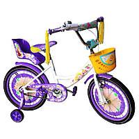 Детский двухколесный велосипед Азимут Гел Azimut Girls 20  дюймов