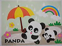 Аппликации EVA. Мягкая мозаика. Панда