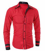 Червона чоловіча сорочка