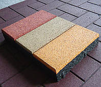 Тротуарная плитка из резиновой крошки