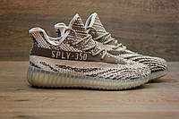 Кроссовки Adidas Yeezy Boost 350 V2 Grey Glow Sole (изи буст) 42