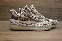 Кроссовки Adidas Yeezy Boost 350 V2 Grey Glow Sole (изи буст) 44