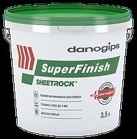 Универсальная шпаклевка Sheetrock USG Super Finish (Греция) 6 кг