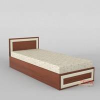 """Односпальная кровать """"КР-108"""" меламин"""