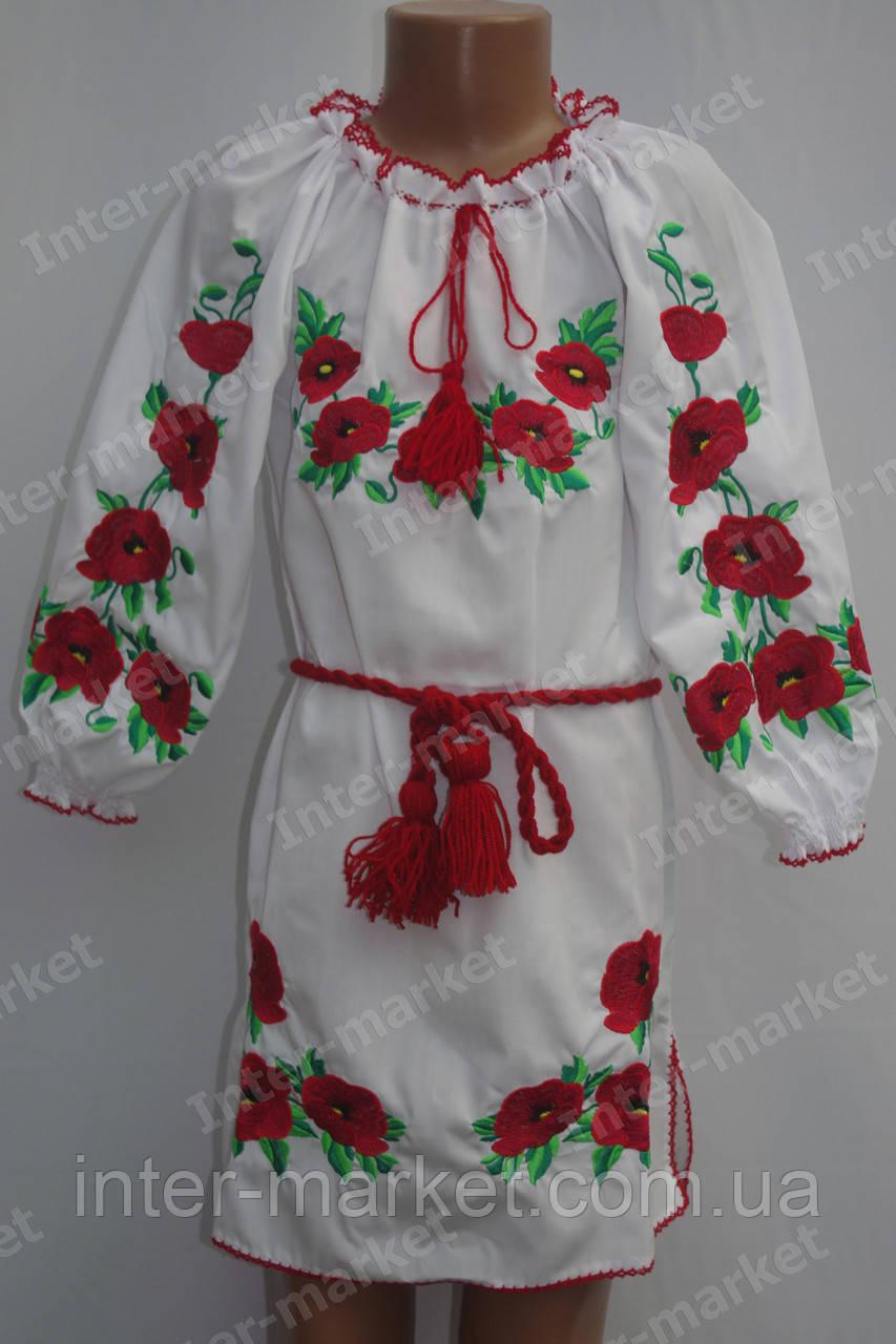 Вышитое детское платье, фото 1