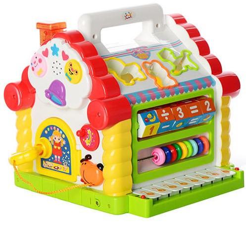 Многофункциональный Теремок Joy Toy сортер 9196
