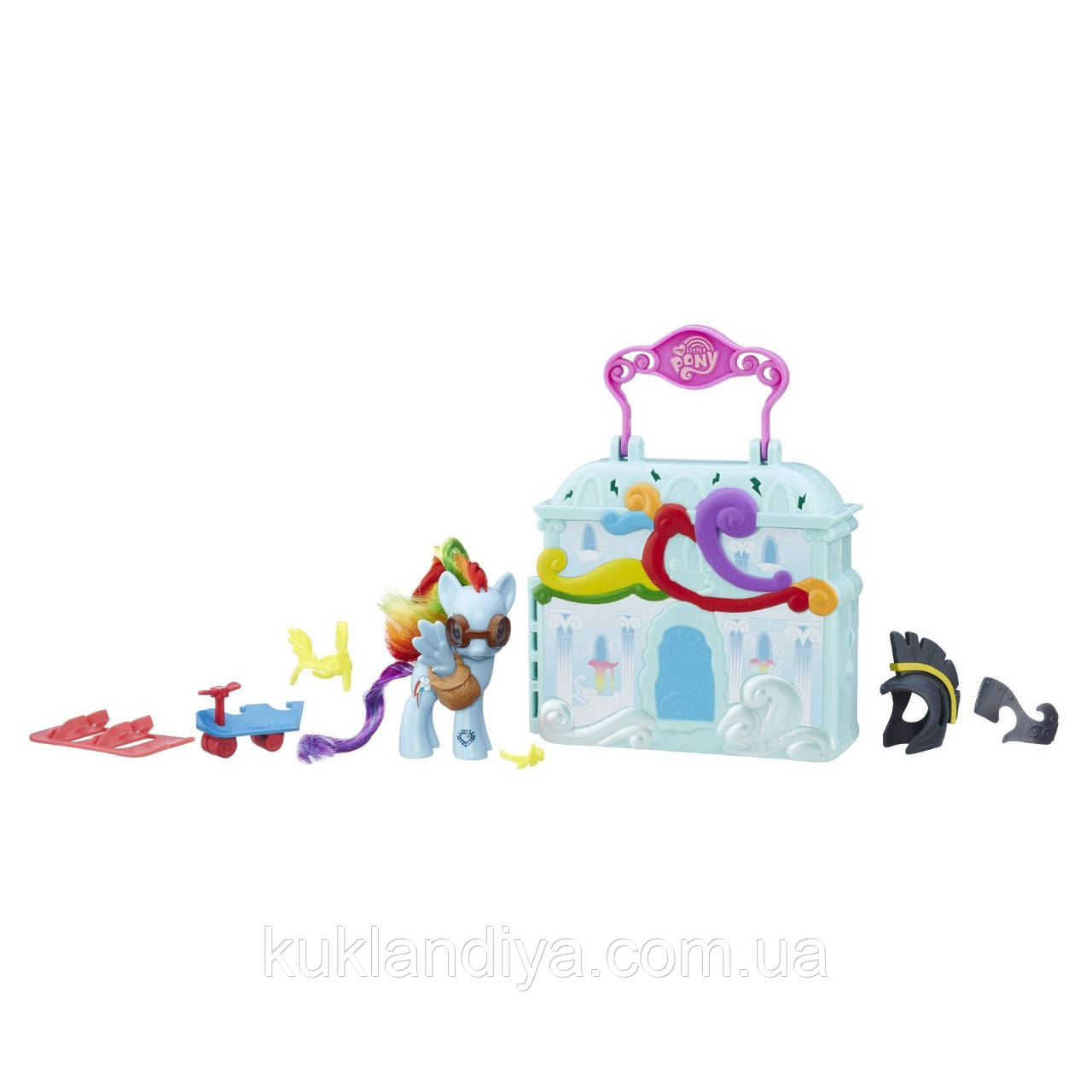 Набор My Little Pony Радуга Дэш с домиком