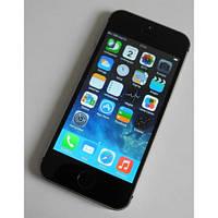 "Смартфон IPhone 5s (1SIM) 4"" 0,3/0,3 Мп JAVA, WiFi black черный Гарантия!"