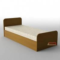 """Односпальная кровать """"КР-110"""" меламин"""