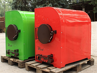 Печь Bullerjan Rud с водяным контуром в утепленном корпусе 30 кВт