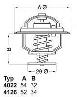 Термостат (-прокладка) 88C Ducato/Boxer/Jumper 2.2HDI 06>14/Transit 00>14  WAHLER