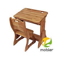 Парта дитяча дерев'яна 70х50