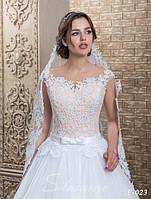 Модная и утонченная свадебная фата