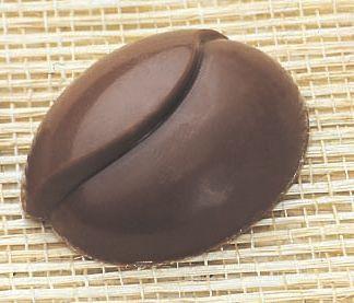 Формочка для шоколада кофейные зерна поликарбонат (код 05698)