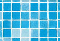 ПВХ пленка для бассейна ALKORPLAN 3000 Мозаика не размытая (ширина 1,65м)