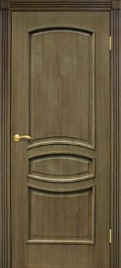 Двери межкомнатные Венеция глухие шпон натуральный