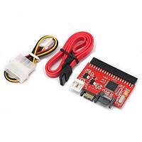 SATA на IDE и IDE на SATA переходник (адаптер)