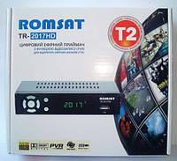Цифровой эфирный DVB-T2 ресивер Romsat TR-2017 HD