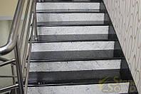Лестницы и ступени из кварцевого камня