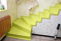 Лестницы и ступени из акрилового камня
