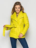 Куртка женская демисезонная С16, демисезонная женская куртка, короткая куртка осень, весна, дропшиппинг, фото 1