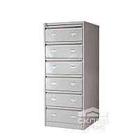 Картотечный (файловый) шкаф для документов формата А5 и А6 (AFC 06) 1327(h)x553x631мм