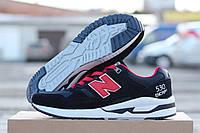 Кроссовки New Balance 530 Encap синие с красным 1781