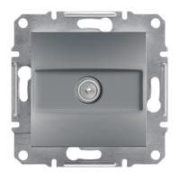Schneider Electric Asfora Сталь Розетка ТВ концевая 1dB без рамки