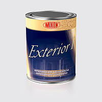 Фасадна фарба Mixon Exterior F. 5 л 1 л, Біла W0