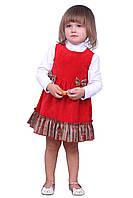 """Сарафан детский для девочки М -1077 рост 86 92 98 и 104 тм """"Попелюшка"""", фото 1"""