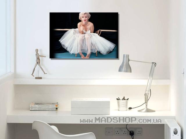 Картина 60х40см Мэрилин Монро Marilyn Monroe Босиком купить