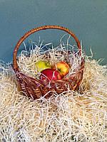 Декоративный наполнитель древесная стружка 500 грамм (шерсть, солома)