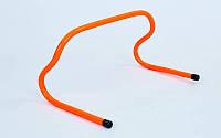 Барьер беговой (1шт) (пластик, р-р 25x46x30см, оранжевый)