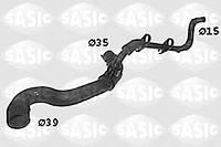Патрубок радиатора верхний Berlingo/Partner 1.8D (>ch.07419)/1.9D  SASIC