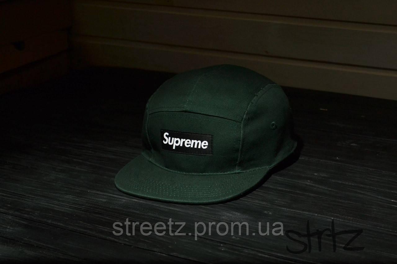 Supreme 5-panel Cap Кепка Пятипанельная