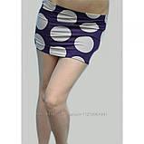"""Юбка - топ в крупный """"Горох"""" в фиолетовом цвете ЛЕТО, фото 2"""