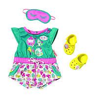 Одежда для кукол Беби Борн комплект одежды для сна Baby Born Zapf Creation 822470, фото 1
